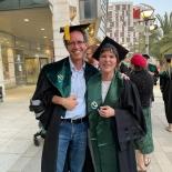 טקס מקבלי תואר דוקטור תשפ״א