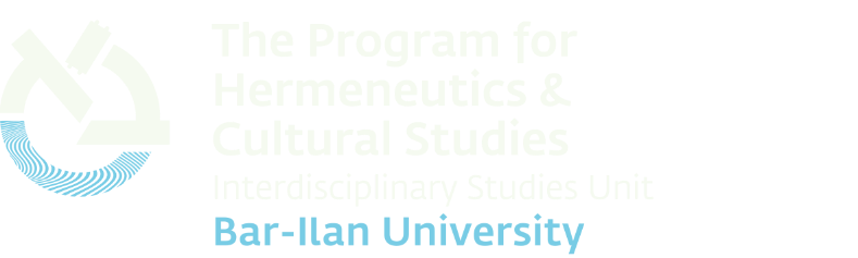 The Program for Hermeneutics & Cultural Studies - Home